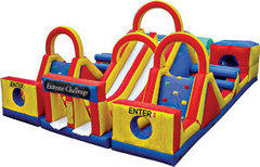 Inflatable Obstacle Course - Dry